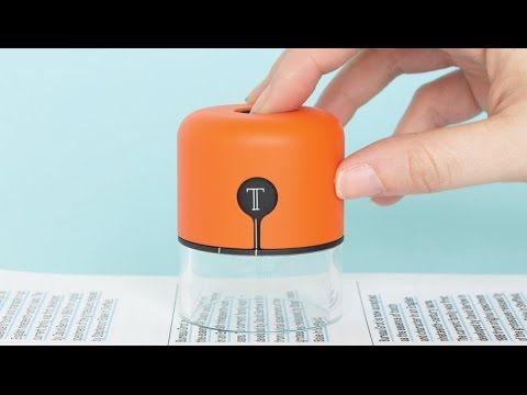 Fiona O'Leary designs pocket-sized font detector