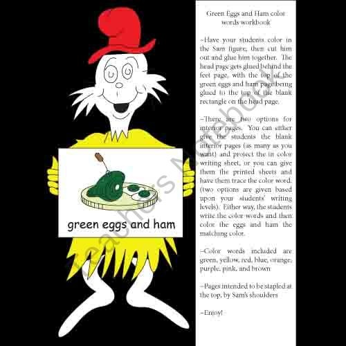 63 Best Images About Green Eggs And Ham On Pinterest