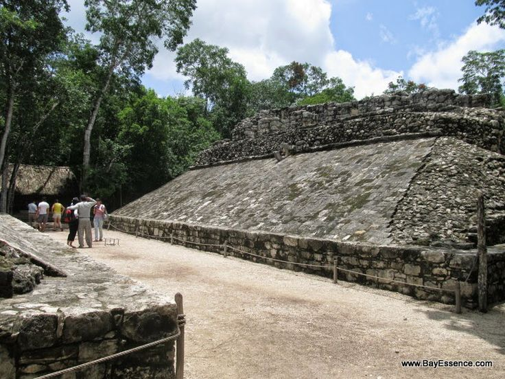 The ball court in Coba | Yucatan Peninsula: Exploring Ancient Mayan Sites | www.bayessence.com
