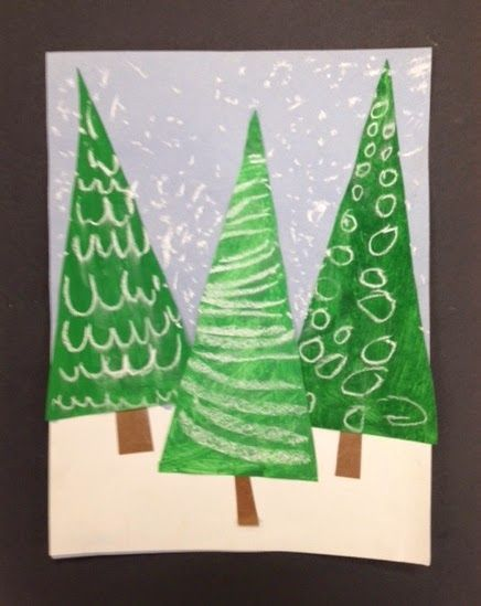 My Grade One class made these patterned evergreen trees today. I am loving how they look clustered together on my bulletin board. ...