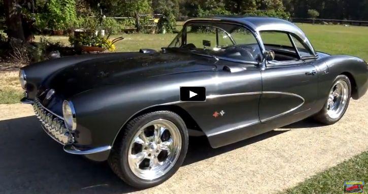 Sweet Custom Built 1957 Chevrolet Corvette LS2
