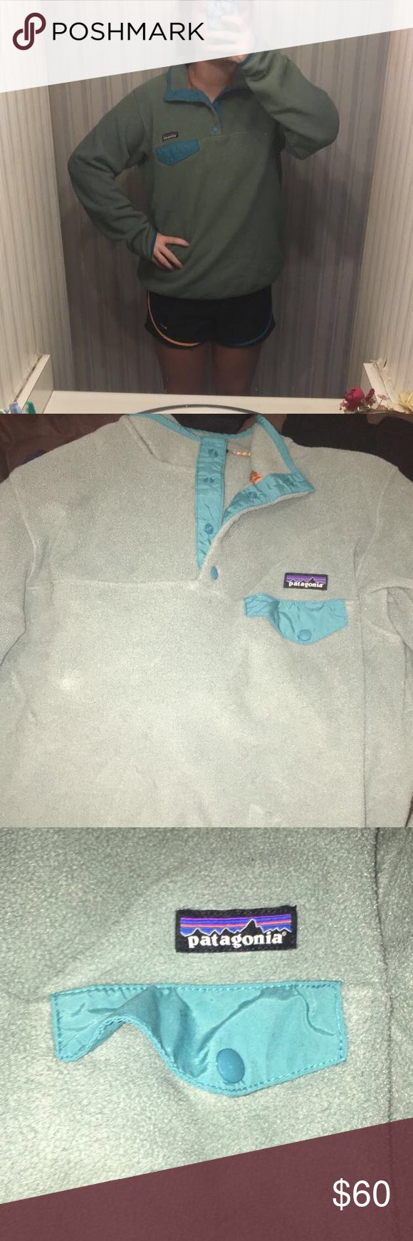 Patagonia pull over Patagonia synchilla pullover lightly worn ! Patagonia Jackets & Coats