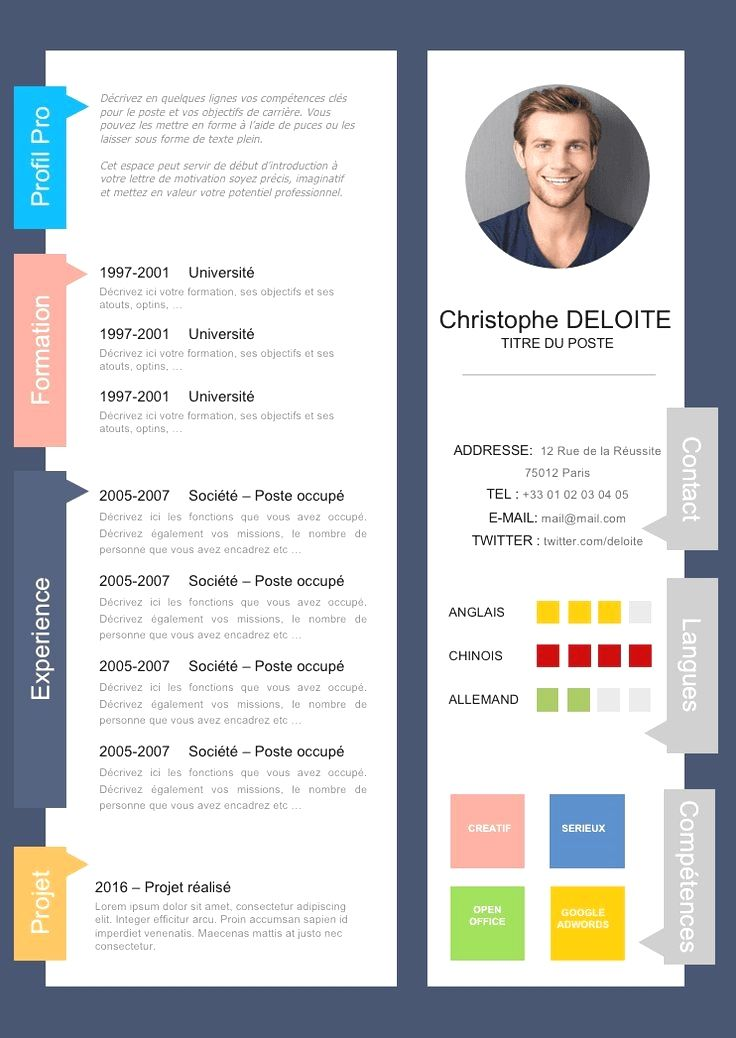Professional Resume Template Instant Download 1 Page Resume Template For Ms Word Diy Resume Temp Creative Cv Cv Design Creative Creative Cv Template