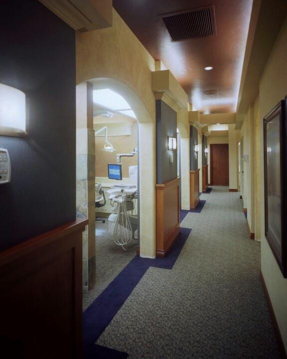 59 best images about dental office designs hallway on for Office hallway design