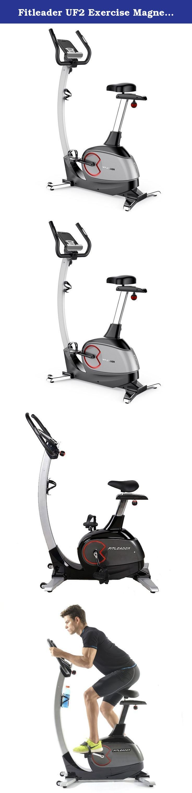 Fitleader UF2 Exercise Magnetic Stationary Flywheel Middle Belt Indoor Upright Bike. Why Choose a Fitleader Upright Bike? Are you still trying to find the best stationary bike for your home gym? If so, the Fitleader UF2 upright bike is the high quality, competitively priced exercise bike you've been looking for! With its eight resistance levels and progress readouts for speed, RPM, time, distance, watts, calories and pulse, the UF2 is exactly what you need to achieve your fitness goals....