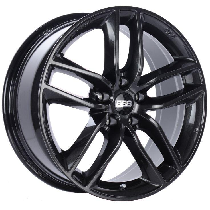 Bbs sx crystal black wheel 19x85 rim size 5x120 bolt