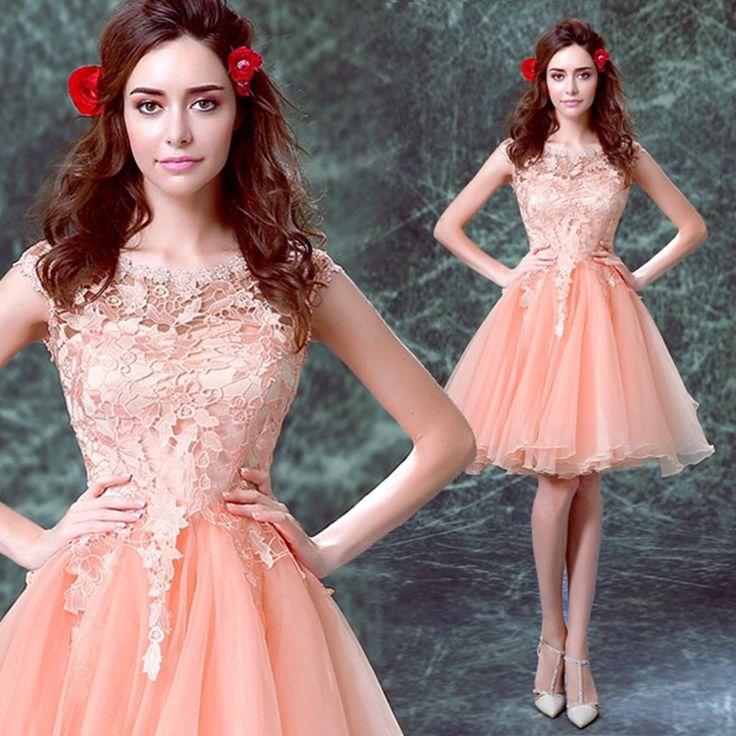 Mejores 19 imágenes de short prom dress en Pinterest | Vestidos de ...