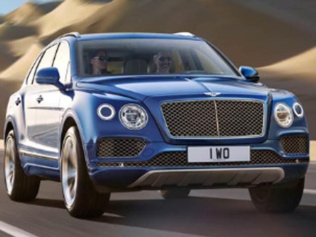 Highest Horsepower Luxury Vehicles Of 2018 2018 Bentley Bentayga Small Luxury Cars Bentley Suv Luxury Cars
