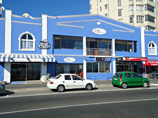 99 on Beach - Strand Beach Road - popular coffee shop with permanent art gallery - Strand - Western Cape - South Africa