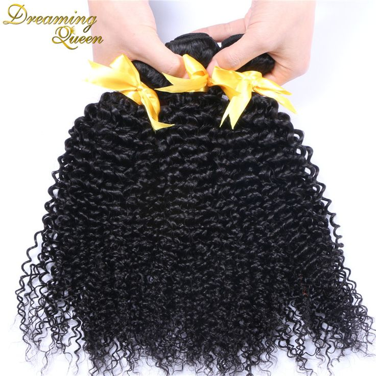 Mongolian Kinky Curly Hair Tight Curly Human Hair Extensions Unprocessed 100% Human Hair Weave 3 Pcs Lot Kinky Curly Virgin Hair