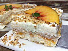 Il tiramisù alle pesche potete prepararlo sia con frutta fresca sia sciroppata. Un dolce cremoso senza uova, per renderlo ancora più leggero e digeribile.