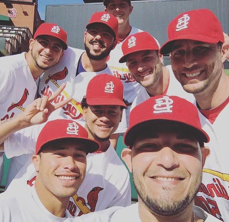 Only the Cards take such great selfies!