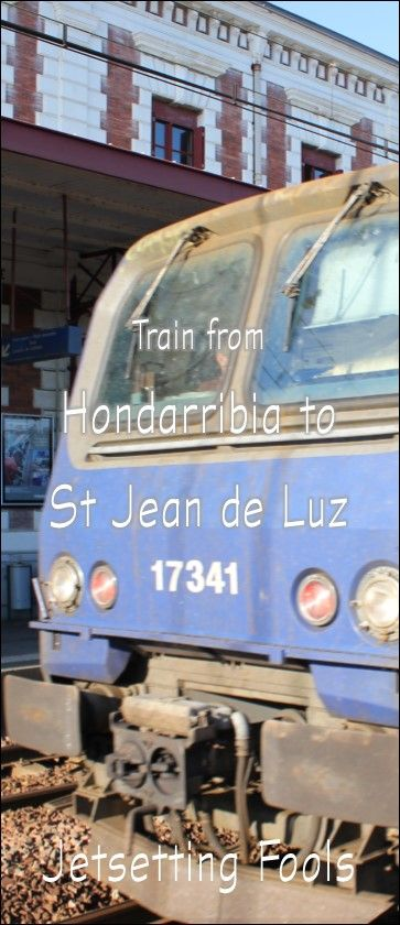 Train from Hondarribia to St. Jean de Luz