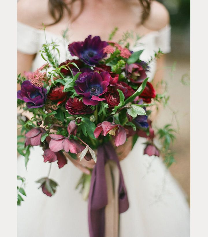 32 of the Most Stunning Fall Bridal Bouquets You've Ever Laid Eyes On - Mon…