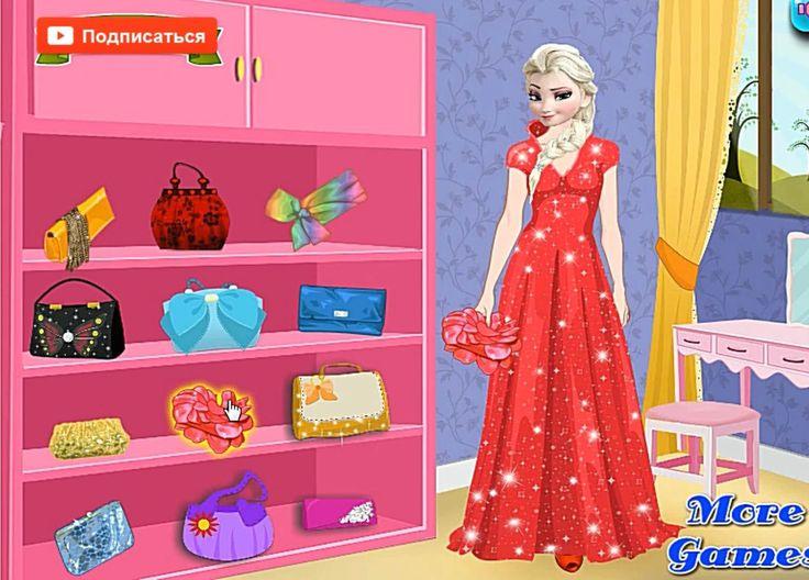 Disney Frozen Games  Elsa Dress Up Игра Холодное Сердце Эльза