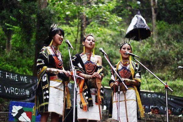 Nagaland, Hornbill Festival, Tetseo Sisters
