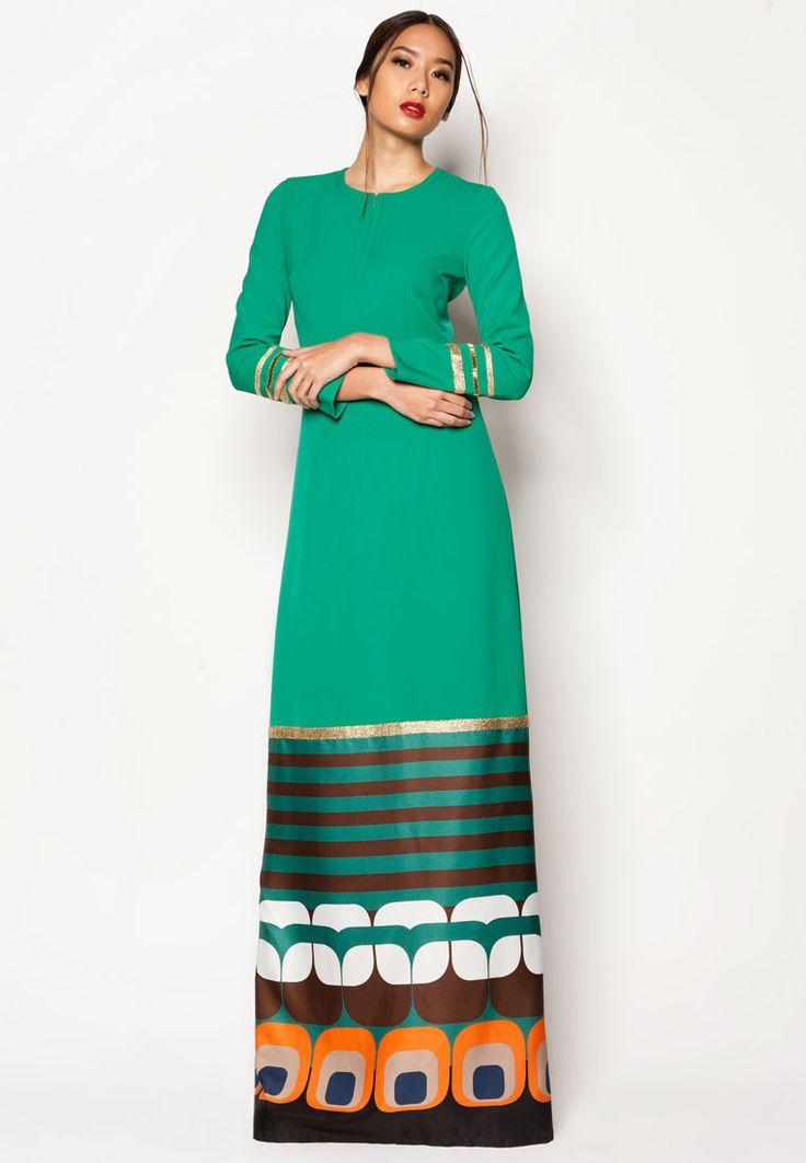 Jovian Mandagie Art Deco Addien Jubah ♥ Muslimah fashion & hijab style