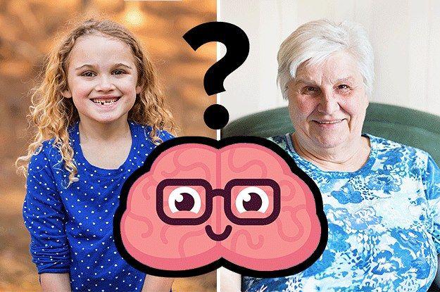 Haz este test y adivinamos tu edad real y tu edad mental