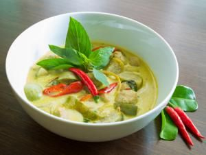 Vegetarian-Approved Thai Green Curry with Authentic Flavors: Delicious Vegetarian Thai Green Curry!