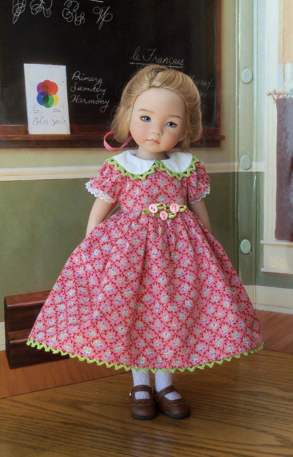 Sugarplum /  Dress for Dianna Effner's 13 by LittleDarlingDuds: