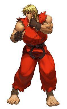 Street Fighter 4 Ken | Bem que a Capcom poderia ter contratado o cara na época do SF3TS:OE ...