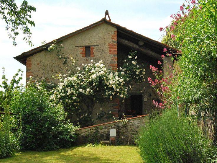 Bagni di Lucca house rental - Il Metato from the garden
