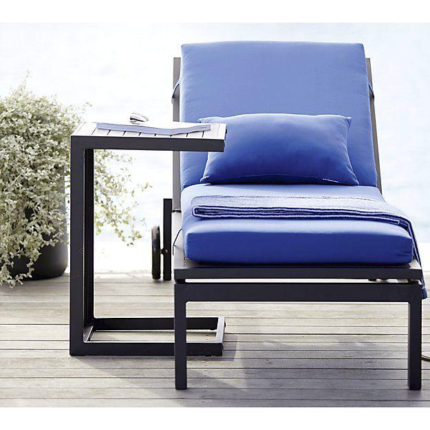 shop sunbrella blue outdoor lumbar pillow blue pillow mixes and matches with