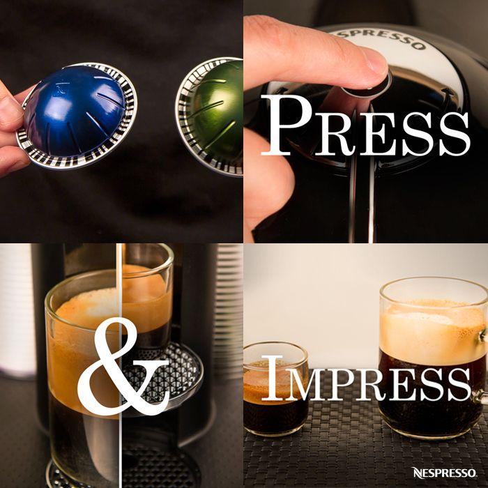 nespresso vertuoline brewing coffee or espresso in your home has never been easier experience - Nespresso Vertuoline
