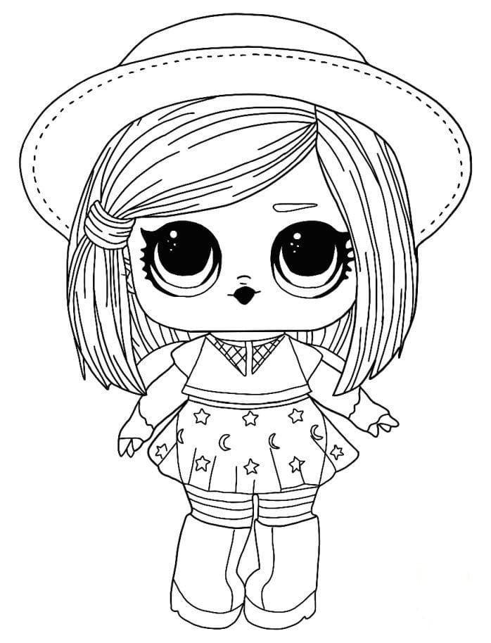 Dibujos para colorear Muñecas LOL. Imprimir en formato A4 ...