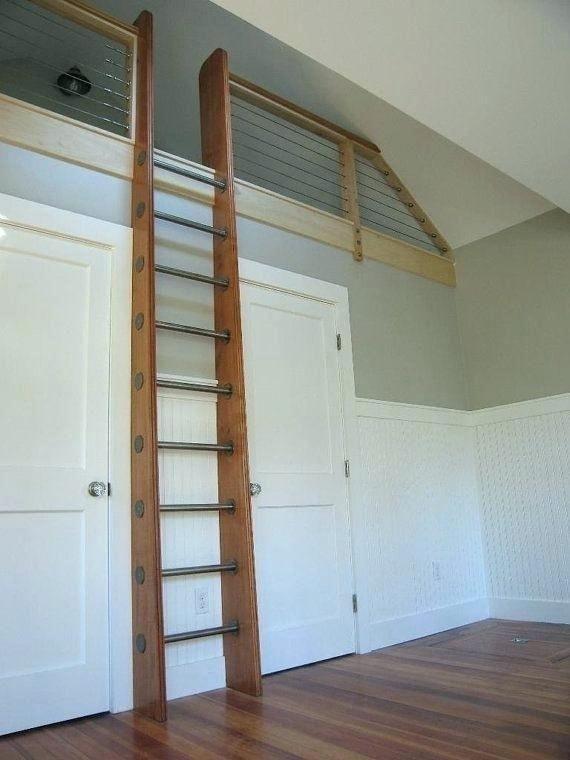 Cozy Vertical Attic Ladder Ideas Remodel Loft Ladder Loft Stairs Attic Loft