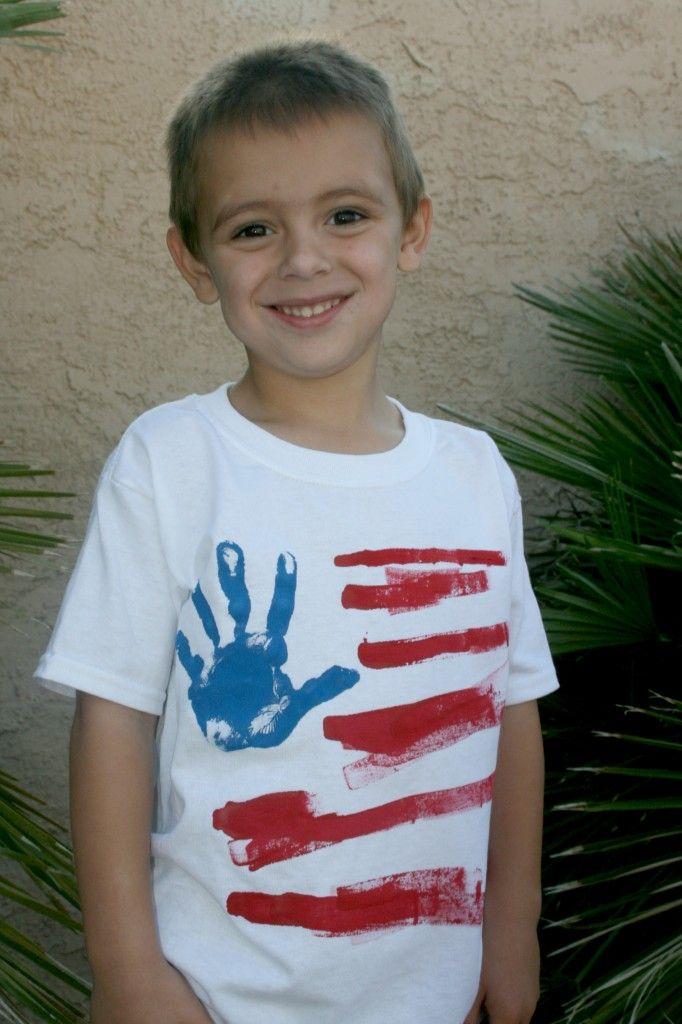 4th of July Kids Tee Shirt.
