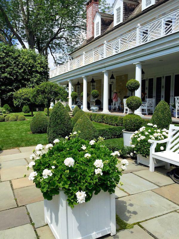 Carolyne Roehm At Home in the Garden via Quintessence