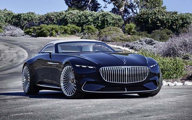 2017 Vision Mercedes-Maybach 6 Cabriolet - What do you all think? #mercedesmaybachvision6