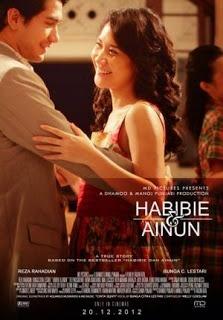 """Kisah romansa antara B.J. Habibie dan mendiang istrinya (Alm.) Hasri Ainun Habibie, akan tertuang dalam film berjudul 'Habibie dan Ainun' yang rencananya akan tayang pada Desember 2012.    """"Kami memproduksi film ini berdasarkan buku 'Habibie dan Ainun', karena ada kisah cinta yang luar biasa di dalamnya,"""" kata produser MD Pictures, Manoj Punjabi, yang akan memproduksi film 'Habibie dan Ainun'."""