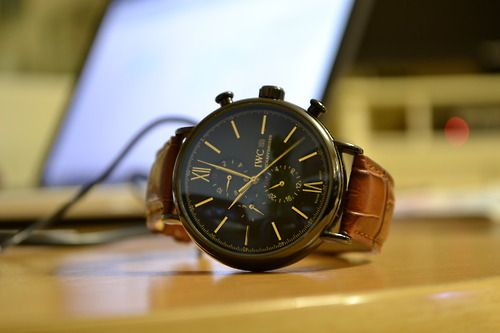 Beautiful watch by IWC