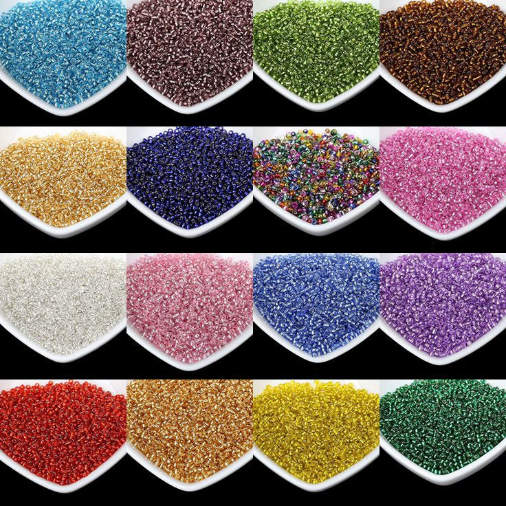 Cheap beads 1000pcs, Buy Quality seed beads directly from China glass seed beads Suppliers: 2MM Silver Lined Round Hole Czech Glass Seed Beads 1000pcs/lot Austria Crystal Beads For Jewelry Making Kids DIY