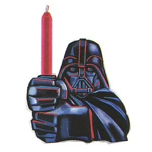 Star Wars Candleholder (with Candle)