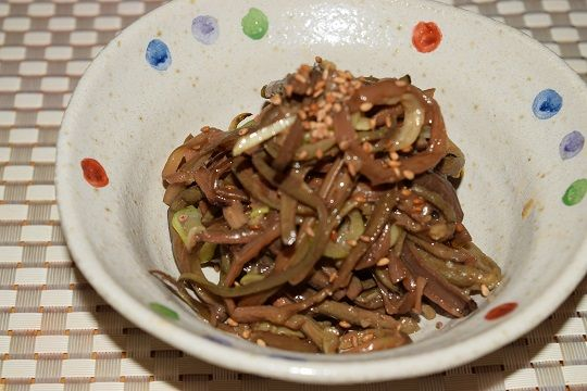 ヨンジョン式ぜんまいナムルレシピ -- 今まで美味しくなかったぜんまいナムル!間違ってます! | 韓国料理店に負けない韓国家庭料理レシピ「眞味」