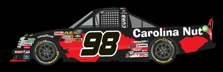 Paint scheme preview: Martinsville 98 johnny sauter carolina nutco 922