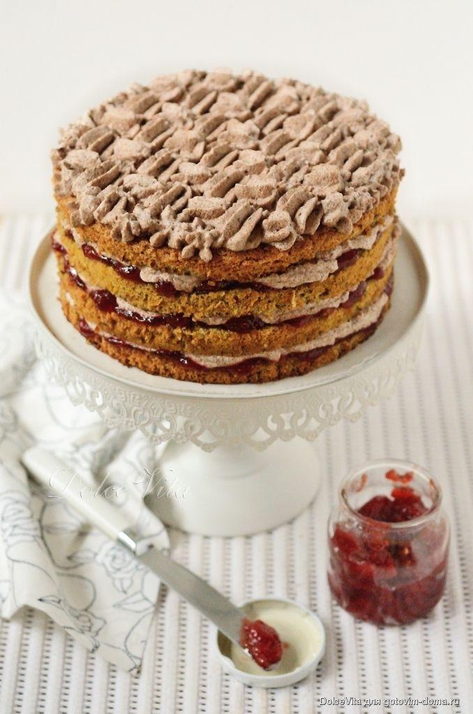 Датский праздничный торт