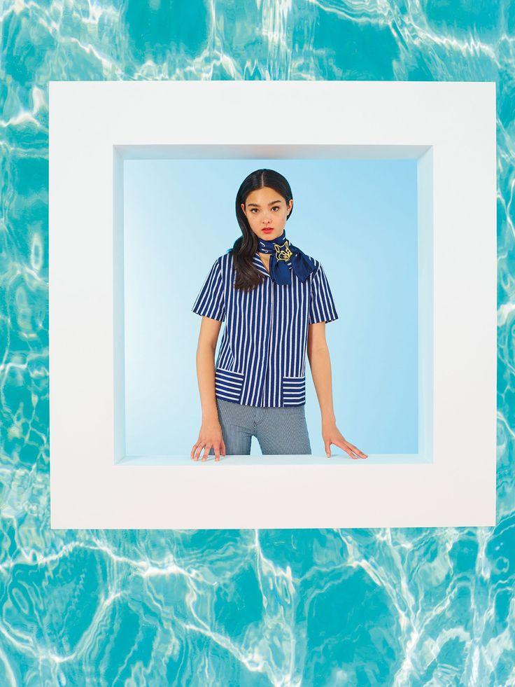 Maison Kitsuné Resort 2017 Fashion Show