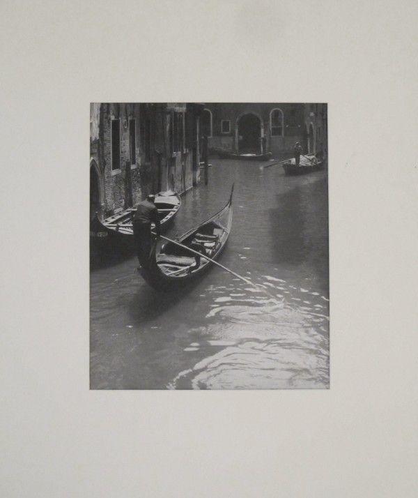 Jan Lauschmann - Benátky II, 1935, černobílá fotografie- 22 000 ...