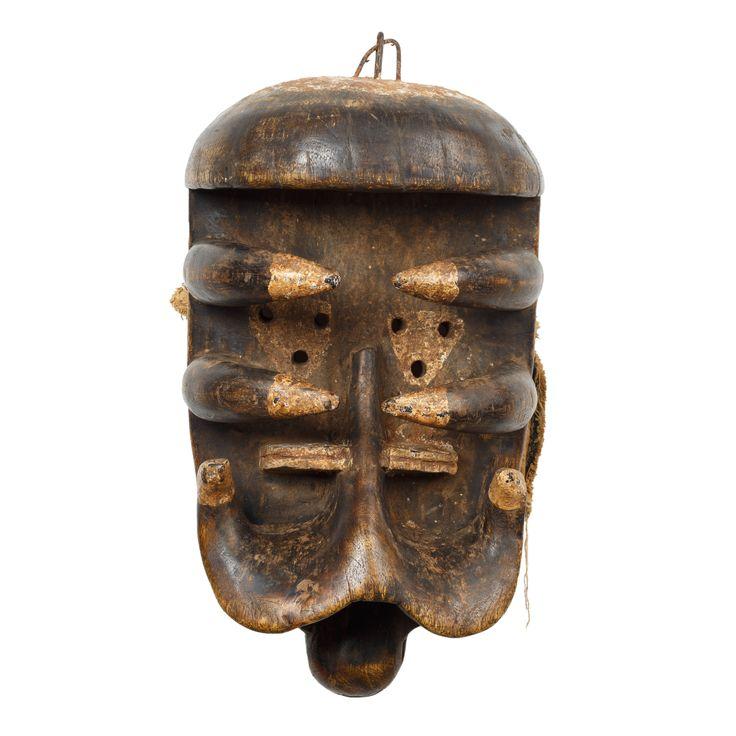 """""""Máscara"""", Grebo, Libéria, Séc. XX"""