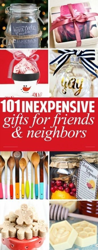Ultimate List of Inexpensive Gift Ideas : Homemade Christmas Gift Idea Lists for your friends and neighbors. Simple, creative, and inexpensive gift idea for any occasion!