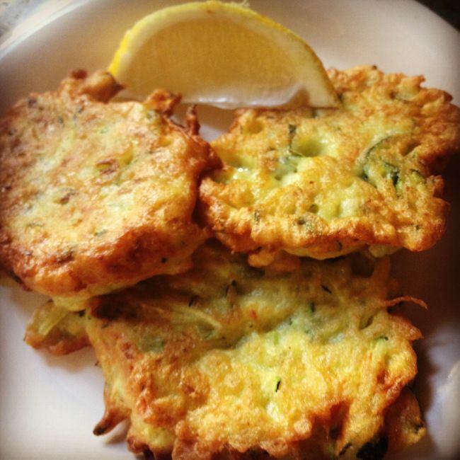 Frittelle di Zucchine e Ricotta (from Majella Home Cooking)