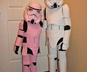 Kid's Stormtrooper Costume... use to make Adult one