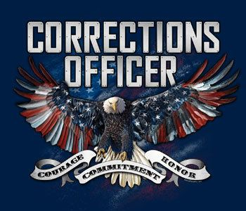 T Shirts  Corrections Officer  White Or by SlickShirtsClothing, $19.95