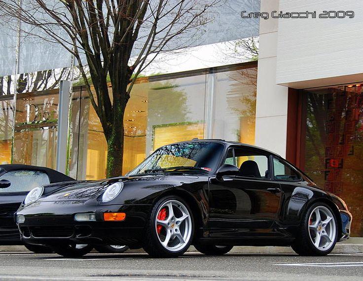 Porsche 911 Carrera 4S. (Type 993)