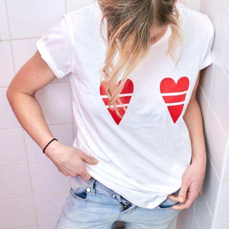 T-shirt Andrea-rouge