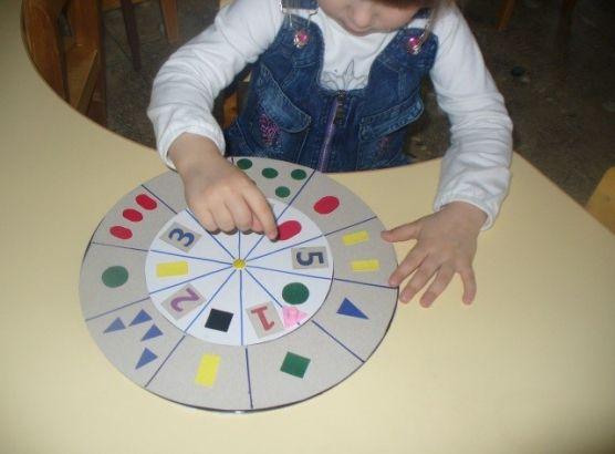 Дидактические игры по обучению счёту в средней группе детского сада Фото